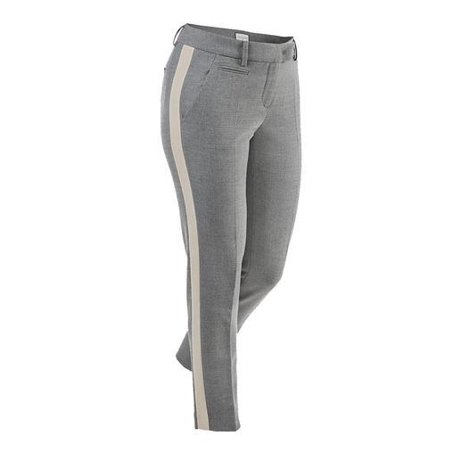 Seductive galonbroek  'Blended Wool' Zacht en kriebelvrij. Comfortabel elastisch. Slijtvast en machinewasbaar.