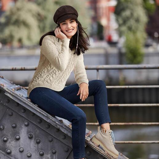 Recover  blue denim jeggings Jeggings: het comfort van een legging. Aanblik van schitterende jeans.