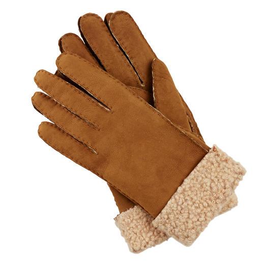 Otto Kessler dameshandschoenen van curly-lamsvacht Exclusieve curly-lamsvacht. Perfecte pasvorm. Zorgvuldige verwerking. Van Otto Kessler.