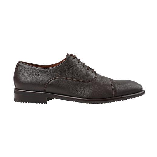 Lottusse oxford-schoenen van hertenleer Handschoenzacht hertenleer. Fijne sacchetto-verwerking. Van Lottusse, Mallorca.