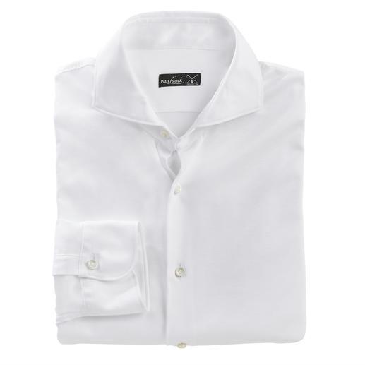 Verzorgd als een luxueus business-overhemd. Comfortabel als een casual T-shirt. Verzorgd als een luxueus business-overhemd. Comfortabel als een casual T-shirt.