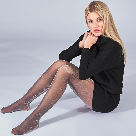 Oroblu Diamond-panty's Feestelijk en trendy: glitterpanty's. Onze favorieten zijn die van Oroblu, Italië.