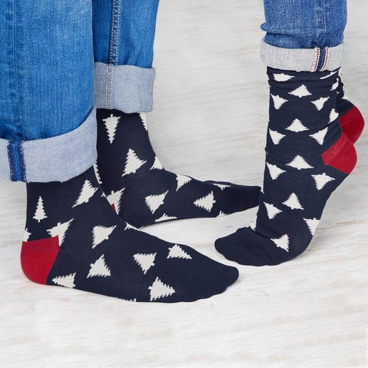 Dilly Socks kerstsokken Sokken zijn vaak niet echt een geslaagd cadeau. Deze gedessineerde exemplaren zijn een uitzondering.