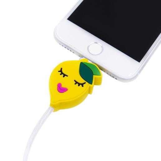 Led-oplaadkabel met motief Het perfecte cadeau voor alle Apple-fans: oplaadkabel met motief en lichteffect. Van Iphoria.
