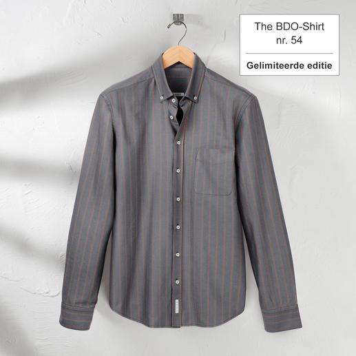 The BDO-shirt, Limited Edition No.54 Ontdek een goede oude vriend. En vergeet dat een overhemd moet worden gestreken.