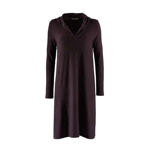 Casual jerseyjurk Zo comfortabel als een huispak, maar veel eleganter. Sweatshirtjurk van extra zachte en superlichte jersey.