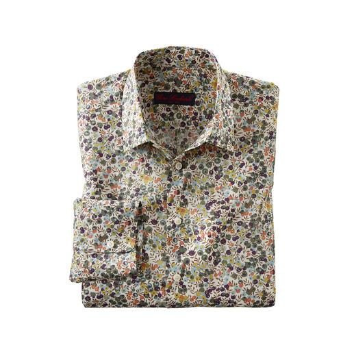 Liberty™ Tana-Lawn- overhemd Wiltshire - Gebloemd gentleman-overhemd: bij alle andere merken een trend, bij Liberty™ al meer dan 140 jaar een traditie.