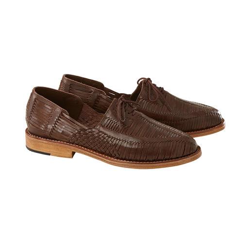 Cano gevlochten Huarache-schoenen De zomerschoen uit Mexico: originele handgevlochten Huarache. Luchtig, comfortabel en stijlvol. Van Cano.