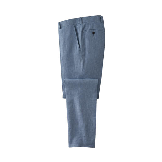 Carl Gross linnen colbert of pantalon Met een optimale pasvorm door de individuele maten van colbert en pantalon.