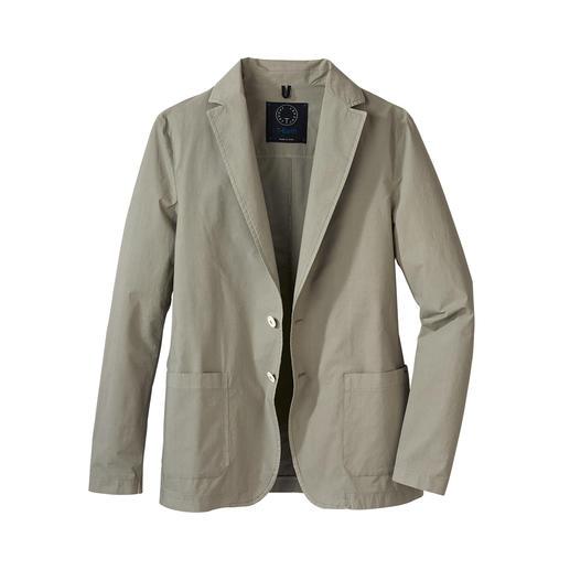 Travel light jack Verzorgd als een colbert, licht en luchtig als een overhemd. Met een gewicht van slechts 300 g.
