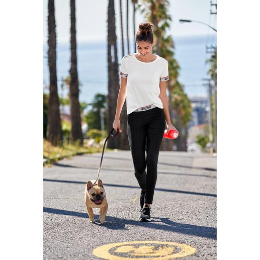 Moschino Underwear T-shirt of legging Trendy sportief chic van een van de meest besproken merken, voor een bijzonder aantrekkelijke prijs.