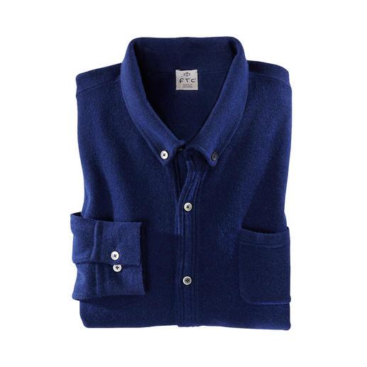 FTC SeaCell®Cashmere fijngebreid overhemd SeaCell®Cashmere: soepel en zacht dankzij kasjmier. Droog en pillingarm dankzij zeewier.