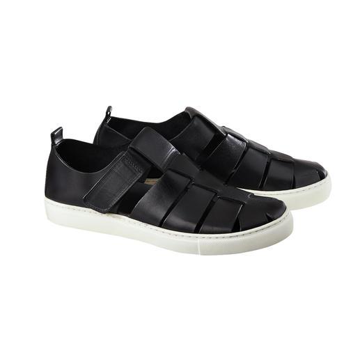Sneakersandalen Luchtig sandaalmodel. Comfortabele sneakerzool. Topkwaliteit made in Italy. Moderne sneakersandalen.