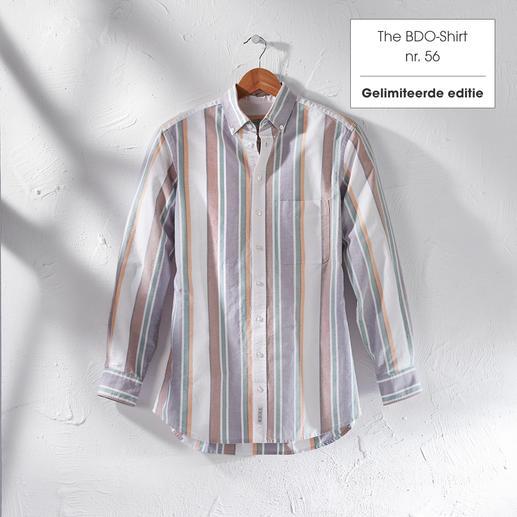 The BDO-Shirt, Limited Edition No. 56 Ontdek een goede oude vriend. En vergeet dat een overhemd moet worden gestreken.