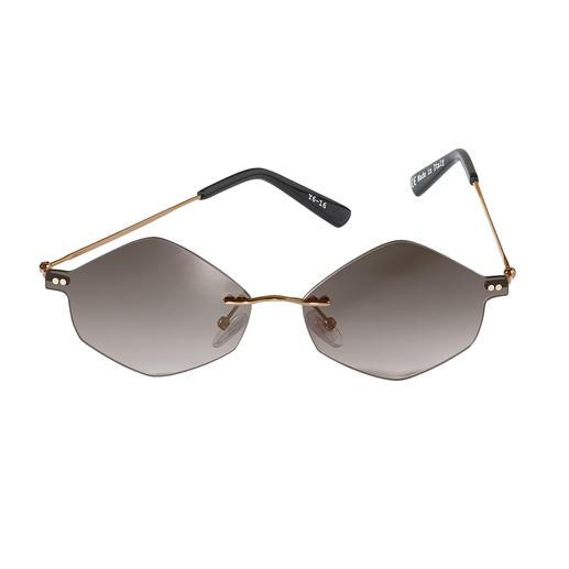 Extravagante zonnebrillentrend: zeshoekige glazen. Mr. Boho heeft de stijlvol strakke en elegante modellen onder de trendbrillen. Extravagante zonnebrillentrend: zeshoekige glazen. Van Mr. Boho.