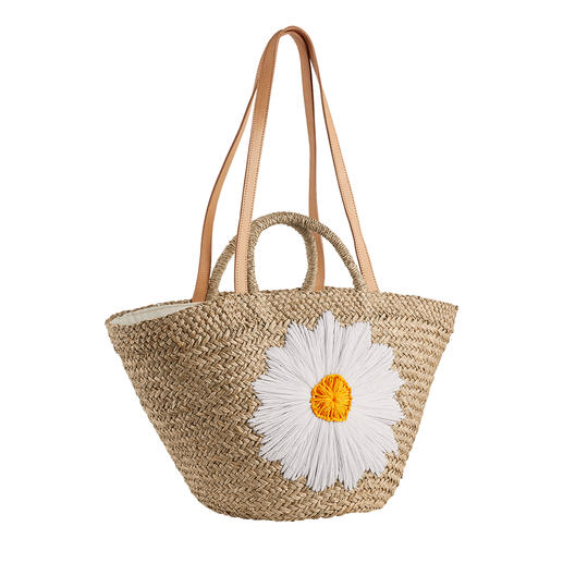 Bali-BAli® tas van raffia Margriet Modieuze tas van stro: zacht en soepel in plaats van stug en onhandig. Van Bali-BAli®.