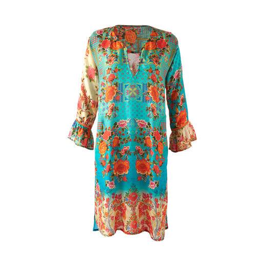 Lula Soul tuniek-jurk Etno-stijl in een chique en volwassen uitvoering.