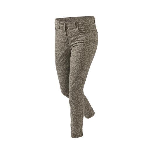 RAPHAELA-BY-BRAX toverbandbroek luipaard Waarschijnlijk uw meest comfortabele broek: de toverbandbroek van RAPHAELA-BY-BRAX.