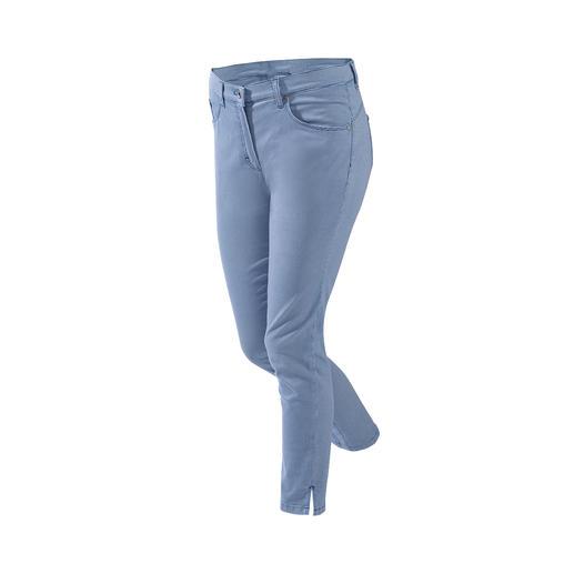 RAPHAELA- BY-BRAX toverbandbroek mini ruit Waarschijnlijk uw meest comfortabele broek: de toverbandbroek van RAPHAELA-BY-BRAX.