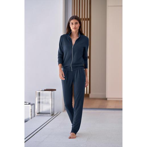 Homesuit van modal Licht als een T-shirt en altijd zijdezacht: deze homewear is helemaal up-to-date.