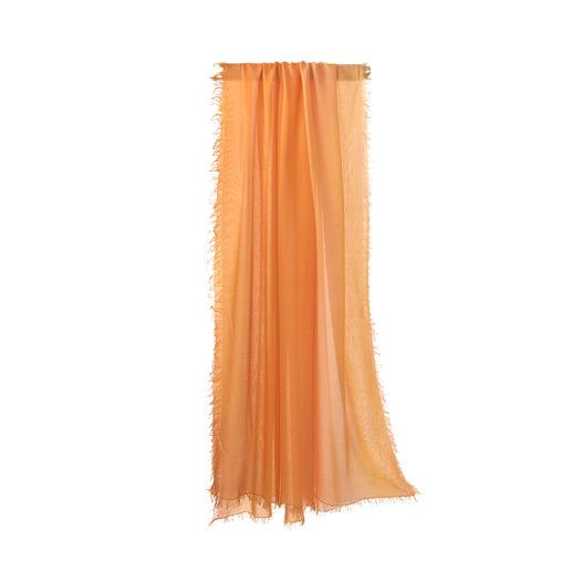 Ancini dégradésjaal Dankzij MicroModal® schitterend van kleur: met de hand gekleurde dégradésjaal van Ancini.