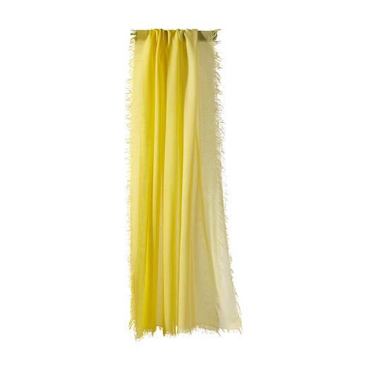 Dankzij MicroModal® schitterend van kleur: met de hand gekleurde dégradésjaal van Ancini. Dankzij MicroModal® schitterend van kleur: met de hand gekleurde dégradésjaal van Ancini.
