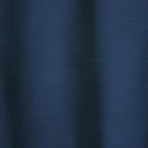 ronde hals, blauw