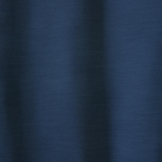 V-hals, blauw