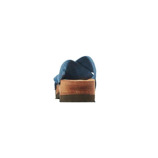 blauwe denim