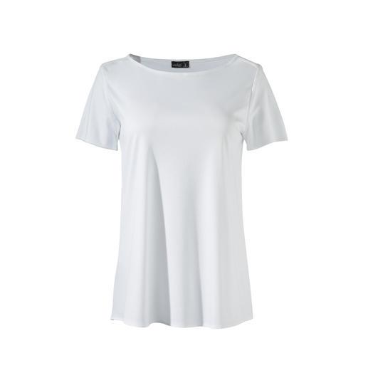 van Laack plisséshirt Eleganter en vrouwelijker dan een shirt. Nonchalanter dan een blouse. Van van Laack.