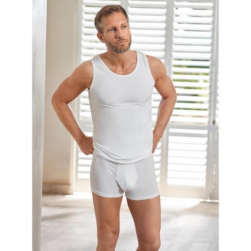 Wolff Coolmax®-ondershirt of -boxershort Het geheim van de frisheid van dit ondergoed: het ademende comfort van Coolmax®.