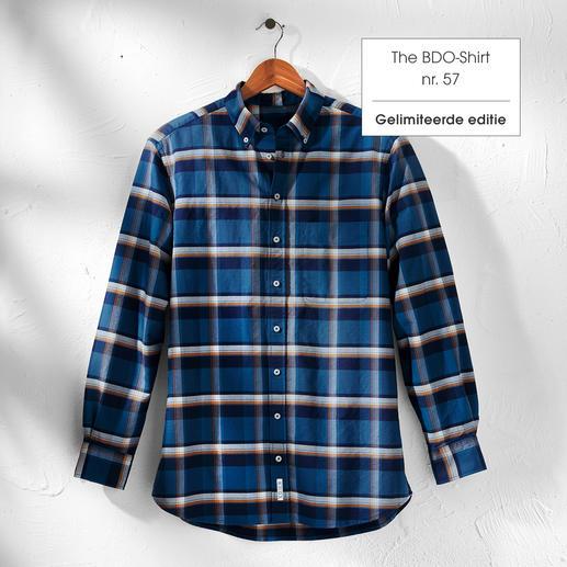 The BDO-Shirt, Limited Edition No. 57 Ontdek een goede oude vriend. En vergeet dat een overhemd moet worden gestreken.