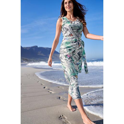 Onderhoudsarme jurk Wassen, drogen, dragen.