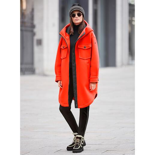 Goldbergh sportief coutureparka, oranje Sportieve streetwear of trendy sportswear? Beide! Van Goldbergh, de Nederlandse favoriet van de modebladen.