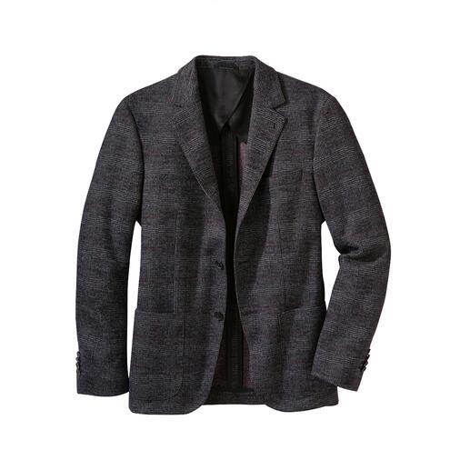 Karl Lagerfeld jerseycolbert Comfortabel en toch verzorgd: Karl Lagerfeld maakt het jerseycolbert geschikt voor kantoor.