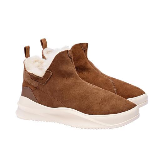 Pajar® sneakerboots met lamsvacht Smal model. Trendy sneakerzool. Premium-kwaliteit van Pajar® uit Montreal/Canada.