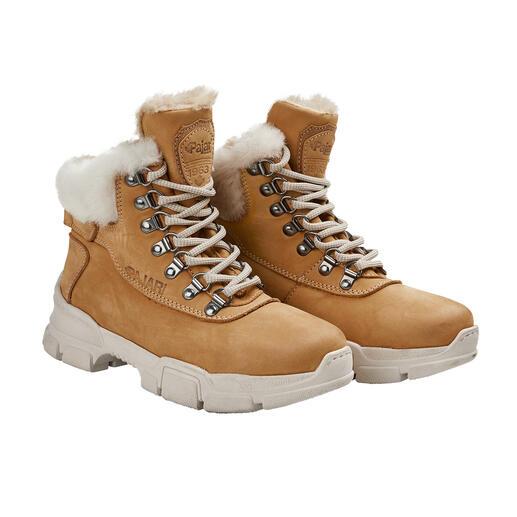 Pajar® hiking boots Waterafstotend nubuckleer met gesealde naden. Ademende, waterdichte tussenmembraan. Ultralichte zool.