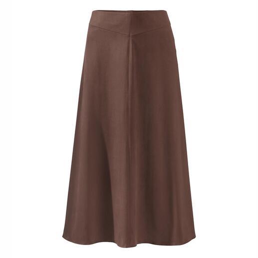 Seductive Alcantara®-rok De trendy rok van fluweelzacht Alcantara®: ziet eruit als suède, maar is veel comfortabeler.