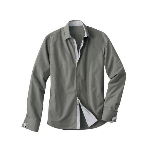 Zip-Off Coolmax-overhemd Businessoverhemd 2.0: het draagcomfort van puur katoen, het klimaatcomfort van Coolmax®.
