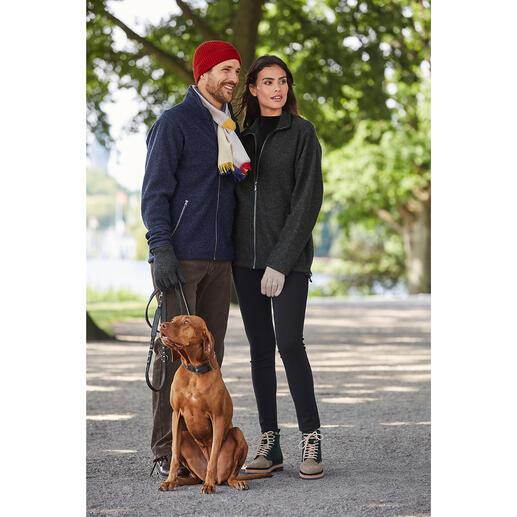 Tencel®-walkjasje voor dames Waarschijnlijk uw meest comfortabele outdoorjas: absoluut weerbestendig en toch van zuiver natuurmateriaal.