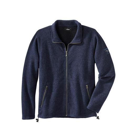 Tencel®-walkjasje voor heren Waarschijnlijk uw meest comfortabele outdoorjas: absoluut weerbestendig en toch van zuiver natuurmateriaal.