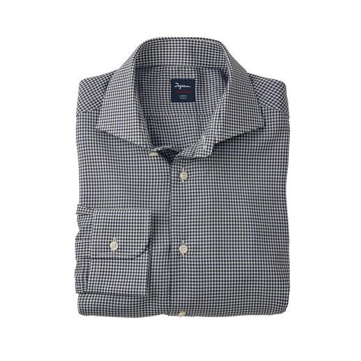 Ingram overhemd van Super130-wol Een van de lichtste, fijnste en meest klimaatregulerende nette overhemden.