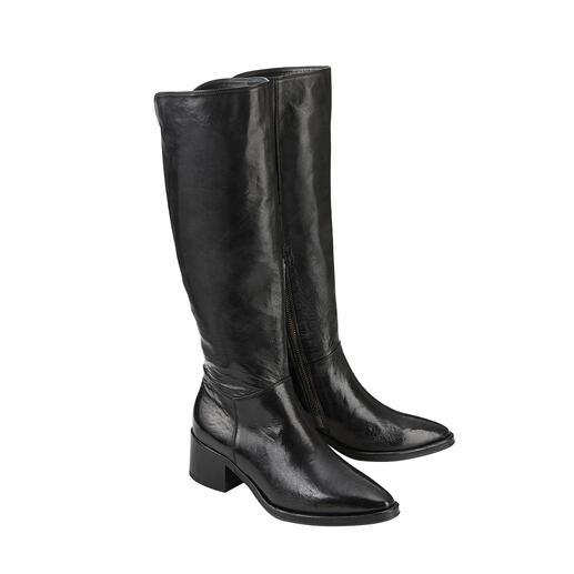 Lange laarzen van Ducanero® Modieuze lange laarzen. Zeldzaam hoge kwaliteit tegen een zeer goede prijs, van Ducanero®.
