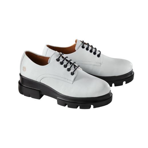 Apple of Eden derby-schoenen met plateau Klassieke derby-schoenen, gemoderniseerd door Apple of Eden. Topkwaliteit uit Portugal.