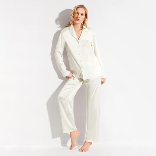 Chiara Fiorini zijden pyjama