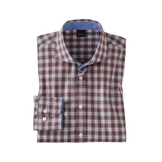 Dorani geruit tartan-overhemd Authentieke tartan-overhemden zijn zelden zo fijn en licht. Gemaakt met hoogwaardige kleermakersdetails.