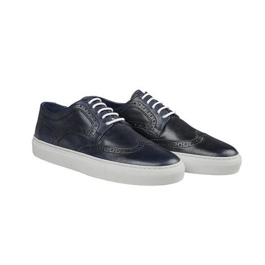 Chique brogue-sneakers Stijlvol als een luxueuze nette schoen. Comfortabel als uw favoriete sneaker.
