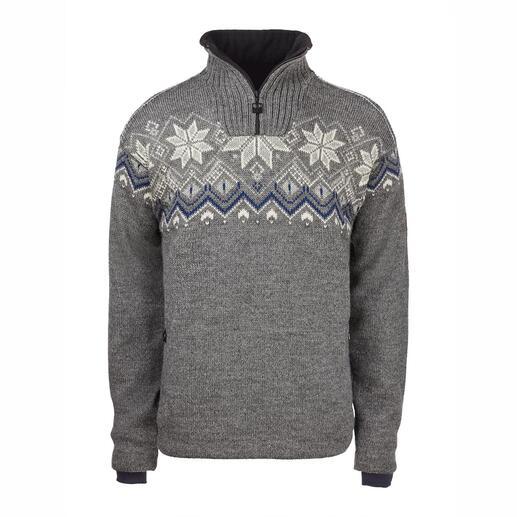 Dale of Norway weatherproof-trui Deze winddichte, waterafstotende Noorse trui is ook echt afkomstiguit Noorwegen.