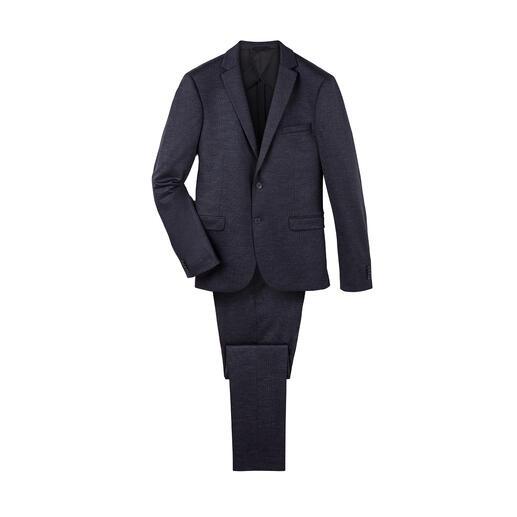 Super 120-jerseycolbert of -broek Zo fijn en stijlvol zijn comfortabele jerseypakken maar zelden.