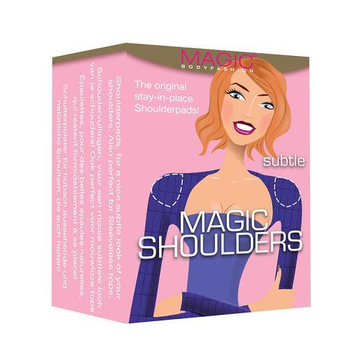 MAGIC® schoudervullingen, paar Push-ups voor je schouders: de kers op de taart voor het perfecte vrouwelijke silhouet.